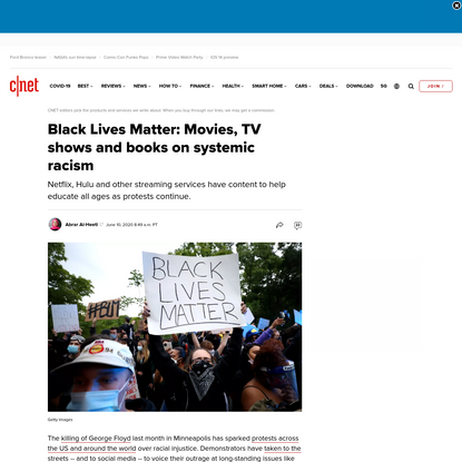Black Lives Matter: Netflix movies, TV shows and books that touch on systemic racism