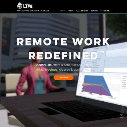 HOME | Second Life Work - Virtual World Meetings, Event & Conferences