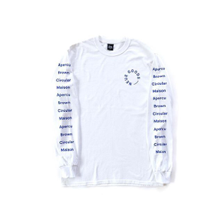 Wear your heart on your sleeve. The Sans L/S is for all the designers out there. Free Shipping on all Australian orders.