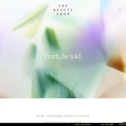 The Beauty Shop - Brand Design Studio and Creative Agency, Squarespace Website Design Specialists, Portland, Oregon