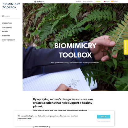 Biomimicry Design Toolbox