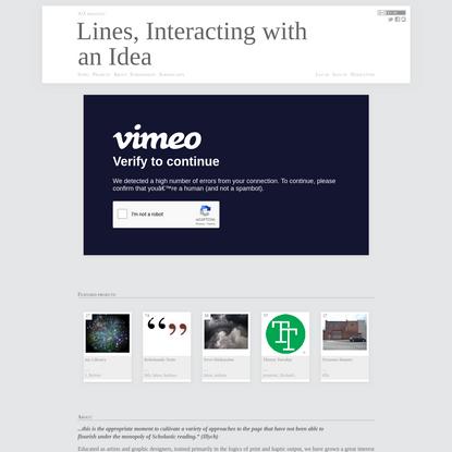 Index - Lines
