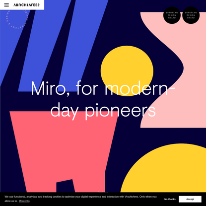 Miro, for modern-day pioneers - Design, Branding & strategy by Vruchtvlees
