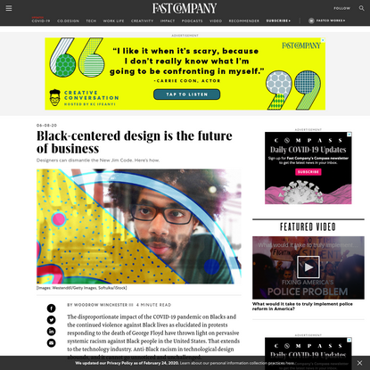 Black-centered design is the future of business