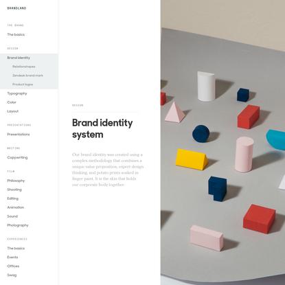 Brand Identity - Zendesk Brandland
