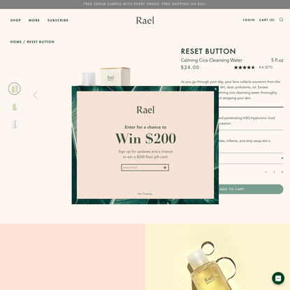 Reset Button – Rael