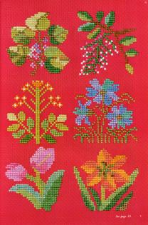 Floral Cross Stitch Designs