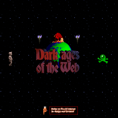 Dark Ages of the Web