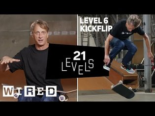21 Levels of Skateboarding with Tony Hawk: Easy to Complex   WIRED
