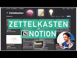How I use Zettelkasten in Notion | Best note-taking knowledge-management system