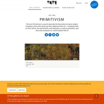 Primitivism - Art Term | Tate