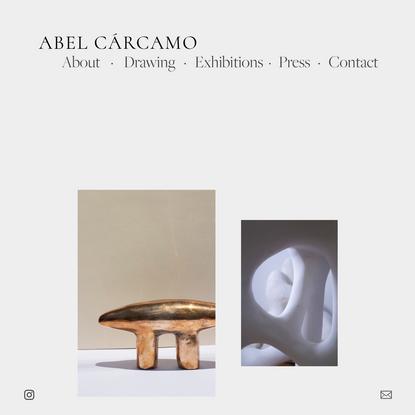Abel Cárcamo - Furniture & Objects Designer