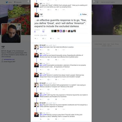 vgr on Twitter