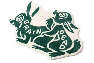 Bunny love rug. Available Tuesday 10 am PST