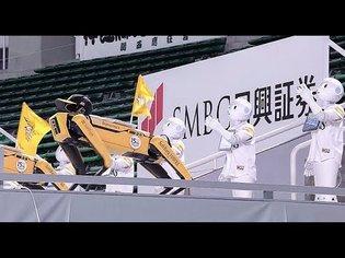 "Boston Dynamics ""Spot"" and Softbank Robotics ""Pepper"" Collaborative Robot dance"
