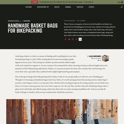 Basket Bags for Bikepacking - BIKEPACKING.com