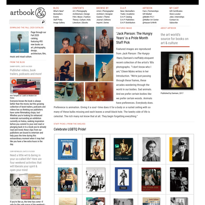 ARTBOOK.COM and D.A.P. / Distributed Art Publishers