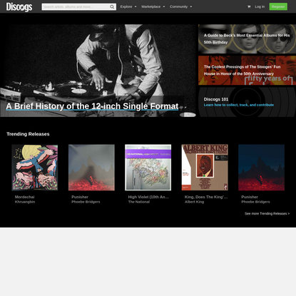 Discogs - Music Database and Marketplace