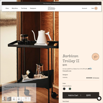 Barbican Trolley II