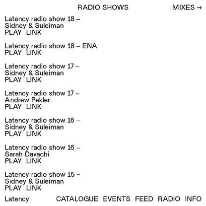 Radio | Latency