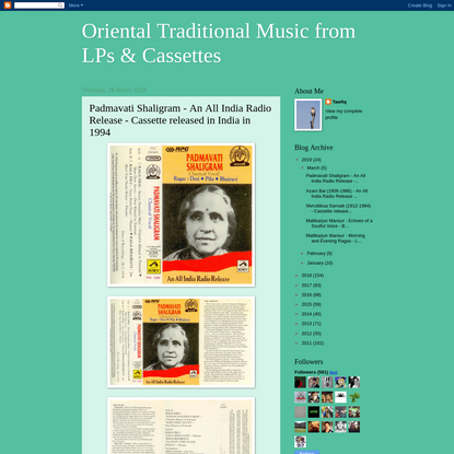 Oriental Traditional Music from LPs & Cassettes