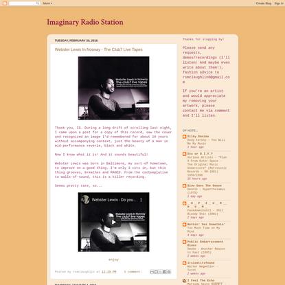 Imaginary Radio Station