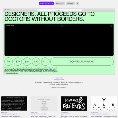 HOVERSTAT.ES | The home of alternative web-design.