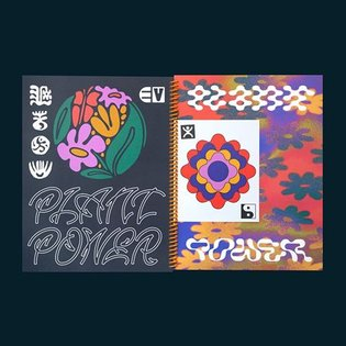 Our newest book 🌿PLANT POWER🍄 will be available Today and tomorrow at the NY Art Book Fair! Selling fast ⚡️ Spiral bound wit...