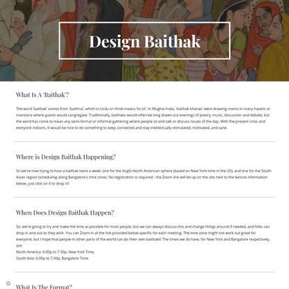 Design Baithak