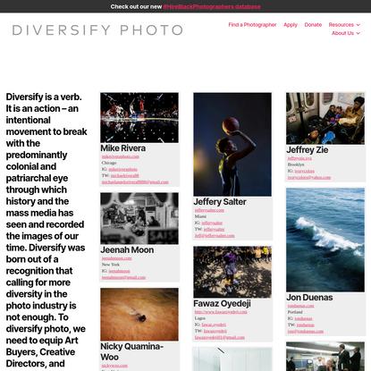 Diversify Photo
