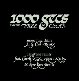 100 Gecs & the Tree of Clues Type by Mikey Joyce