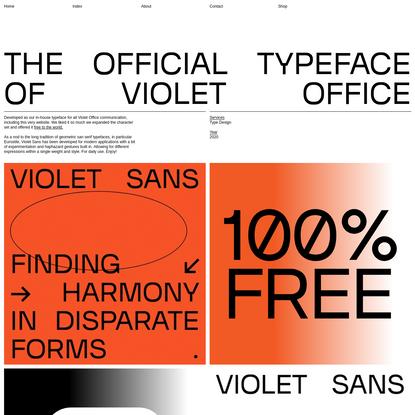 Violet Sans   Violet Office