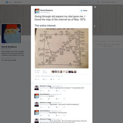 David Newbury on Twitter