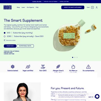 The Smart Supplement