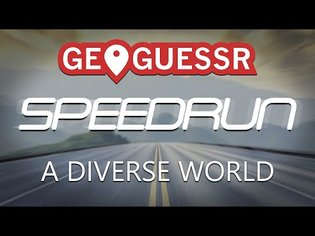 [EN] Geoguessr speedrun: A Diverse World in 11:27