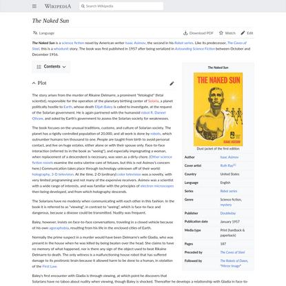 The Naked Sun - Wikipedia