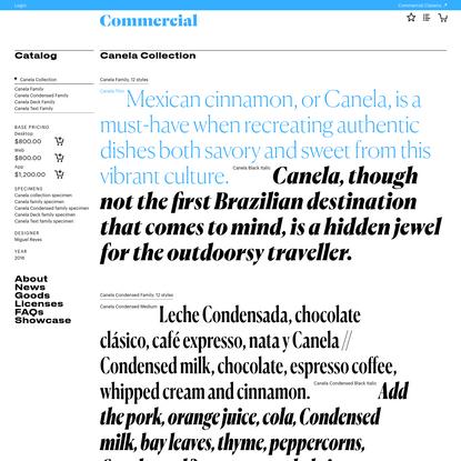 Canela Collection