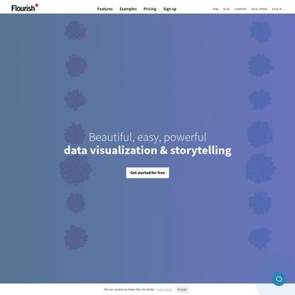 Flourish   Data Visualization & Storytelling