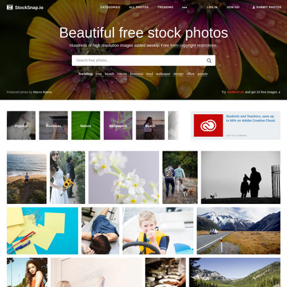 Free Stock Photos (CC0) - StockSnap