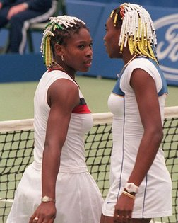 16-year-old Serena Williams and 17-year-old Venus Williams competing at the Australian Open in 1998. Over the years the two ...