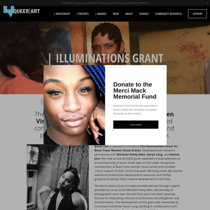 Illuminations Grant - QUEER | ART