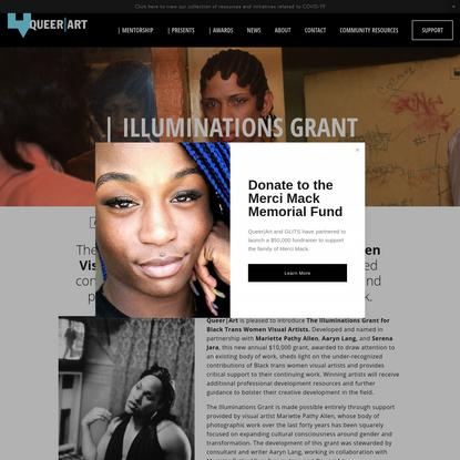 Illuminations Grant - QUEER | ART