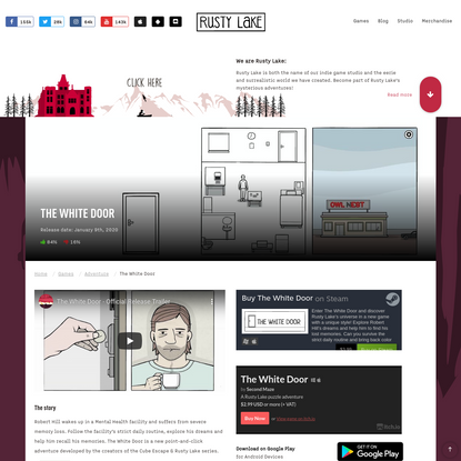The White Door game - play now at RustyLake.com!