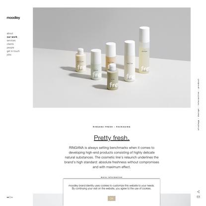 Ringana Fresh - Packaging - moodley design group