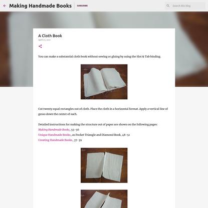 A Cloth Book