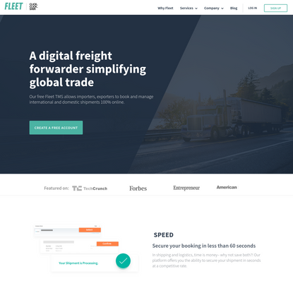 Fleet Logistics | Digital Freight Forwarder
