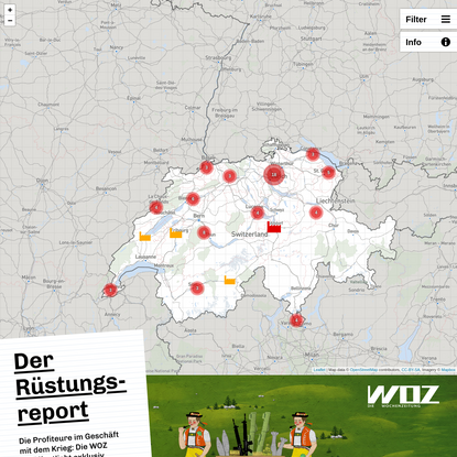 Der Rüstungsreport - WOZ Die Wochenzeitung
