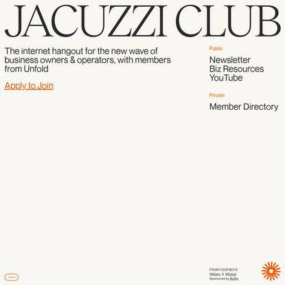 Jacuzzi Club