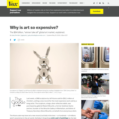 Why is art so expensive?
