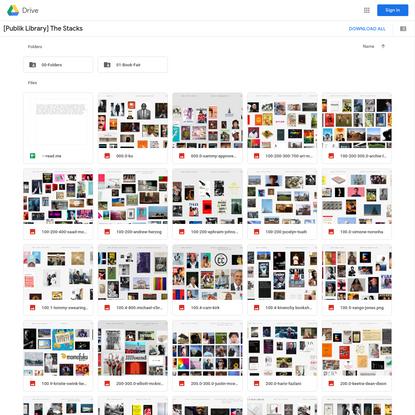 [Publik Library] The Stacks - Google Drive